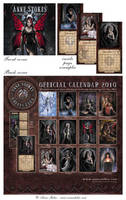 Calendar 2010 by Ironshod