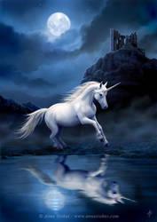 Moonlight Unicorn by Ironshod