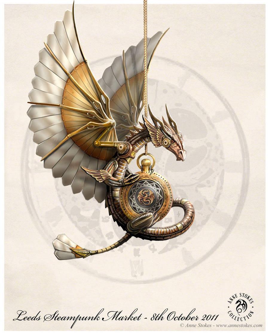 Steampunk dragon by Ironshod