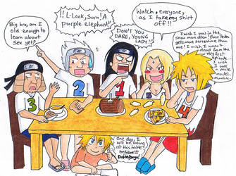 Breakfast with the Hokages by gejimayo