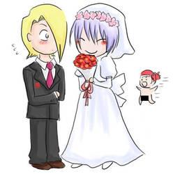 Wedding by gejimayo