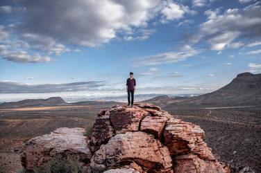 Red Rock Canyon by DismayedSense