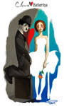Clown and Ballerina by Phobs