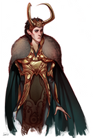 Loki sketch by Phobs