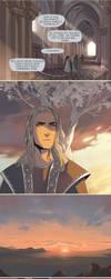 Silmarillion shorts: Sauron and Ar-Pharazon by Phobs
