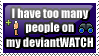 too many on devwatch stamp by Kiyi-chan