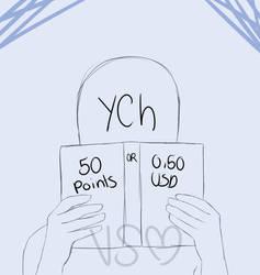 YCH Book || CLOSED by VickiSakurai