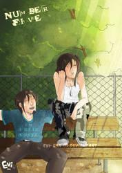 :Sasha and Taiko: Be quiet by Evi-san