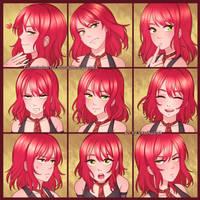 ExpressionSet: Roxanne by VSasha