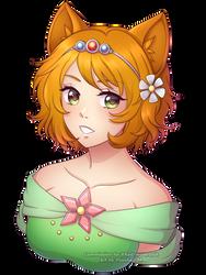 YCH#12.A: Princess Hajime by VSasha