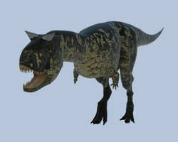 Carnotaurus Sketchup+Vray by reminegrest