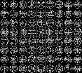 Goetic Avatars by TheSoulCaptor
