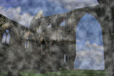 Ruins in the Clouds 000 by JoeyD473