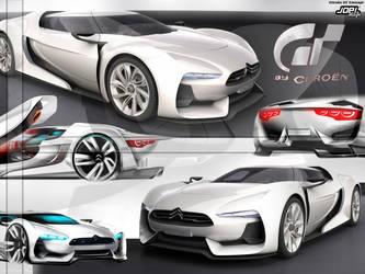 Wallpaper: Citroen GT Concept2 by Joel-Design