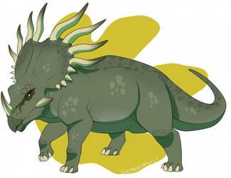 S'arkil Styracosaurus by SpinosaurusDinosaur