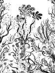 Three flowers by Dessins-Fantastiques