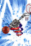 Basketball Robot-Player by Dessins-Fantastiques
