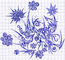 Little flowery drawing by Dessins-Fantastiques