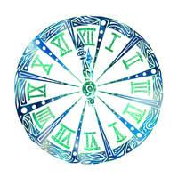Abstract Clock by Dessins-Fantastiques