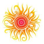 Tribal Sun by Dessins-Fantastiques