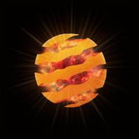 Orange Supernova by Dessins-Fantastiques