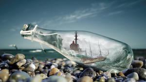Le Havre en bouteille by Dessins-Fantastiques