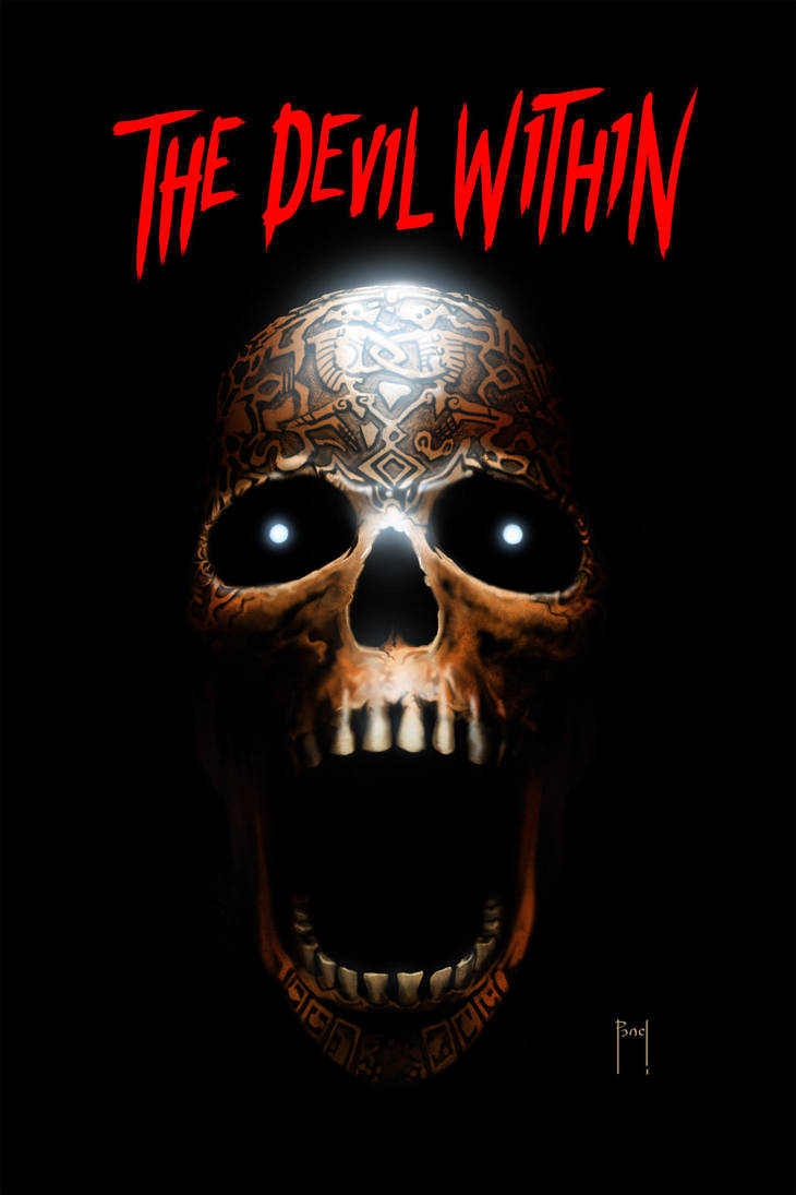 The Devil Within cover 01 by HenryPonciano