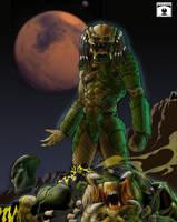 predator fight by HenryPonciano