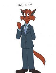 Jake in Suit by Kooshmeister