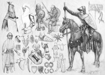 Medieval rider and stuff (4) by Nomatterwhat1984