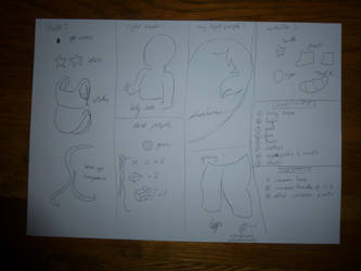 Planning for fimo Amethyst by aisling-somnium