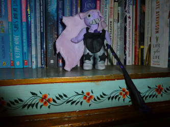 Fimo amethyst by aisling-somnium
