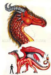 Fire Dragon by Mireth