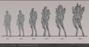 Cactus Dude Transformation by Parcel-Sisters