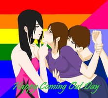 Happy Coming Out Day by kikiyo-uchiha