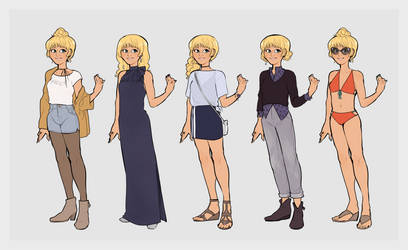 Aurelie Outfits by Yaushie