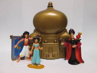 OUAT Aladdin PVCs by thetrappedartist