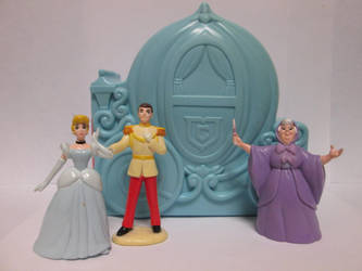 OUAT Cinderella PVCs by thetrappedartist