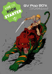 He-Man and Battlecat  by shaotemp