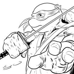 TMNT Leo by shaotemp