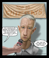 Anderson Cooper caricature by jonmoss77
