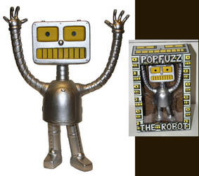 PopFuzz The Robot Toy by PopFuzz