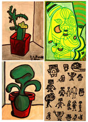 ATC Artist trading card set 1 by PopFuzz