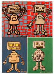 ATC Artist trading card set 2 by PopFuzz