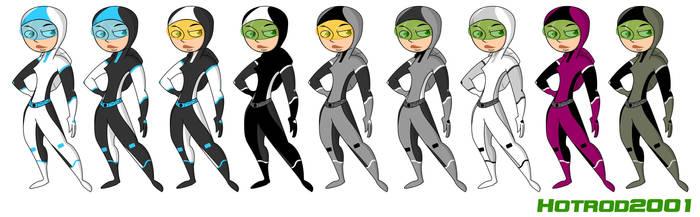 Battle Suits by hotrod2001