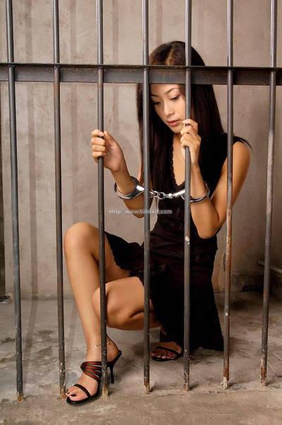 Handcuff girl by JolinGoh112233
