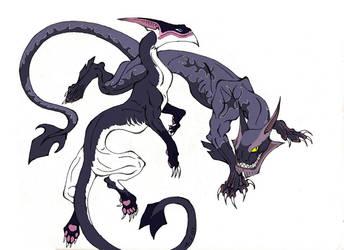 DB Black Dragons by Moonshadow01