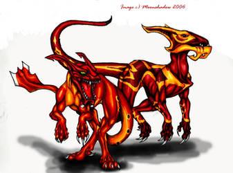 More DB Dragons by Moonshadow01