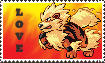 Arcanine Stamp by Lumasan