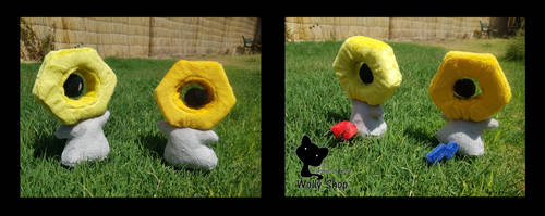 Meltan and Meltan shiny (for sale) by WollyShop
